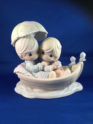 My Dream Boat  - Precious Moment Figurine *AUTOGRAPHED*