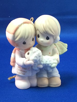 Our First Christmas Together 2000 - Precious Moment Ornament