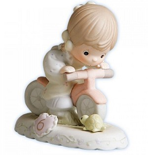 Growing in Grace Age 6  - Precious Moment Figurine