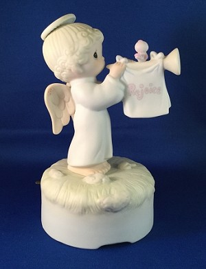 Rejoice O Earth - Precious Moments Figurine (Musical)