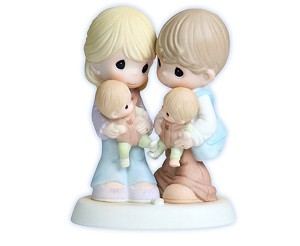 Twice The Blessings! - Precious Moment Figurine