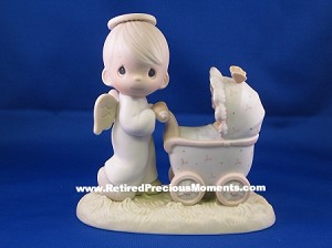 Baby's First Trip - Precious Moment Figurine