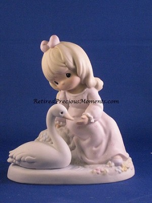 Blessed Are They With A Caring Heart - Precious Moment Figurine
