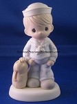 Bless Those Who Serve Their Country - Navy - Precious Moment Figurine