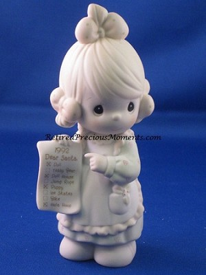 But The Greatest Of These Is Love - 1992 Precious Moment Figurine