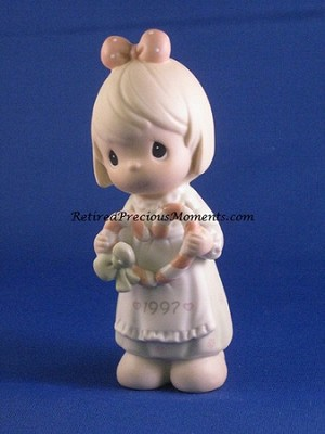 Cane You Join Us For A Merry Christmas - 1997 Precious Moment Figurine