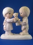 Christmastime Is For Sharing - Precious Moment Figurine