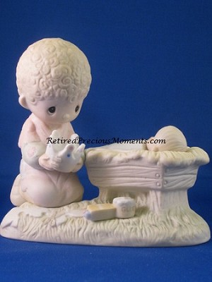 Crown Him Lord Of All - Precious Moments Figurine