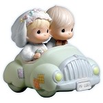 Wishing You Roads Of Happiness - Precious Moment Figurine