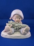 Don't Let The Holidays Get You Down - Precious Moment Figurine
