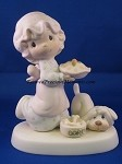 Dropping Over For Christmas - Precious Moment Figurine