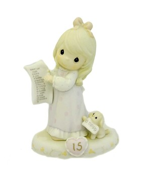Growing in Grace Age 15 - Precious Moment Figurine