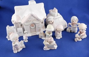 Post Office Collector's Set - Precious Moment Figurine