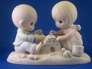 God Bless Our Home - Precious Moment Figurine
