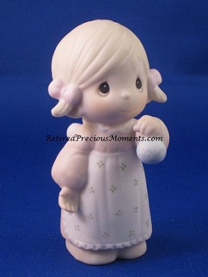 God Gave His Best - Precious Moment Figurine