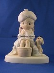 God Is Watching Over You - Precious Moment Figurine
