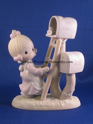 Good News Is So Uplifting - Precious Moment Figurine
