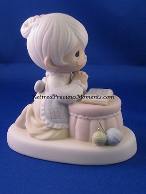 Grandma's Prayer - Precious Moment Figurine