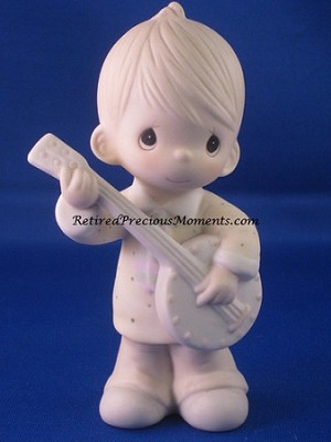 Happiness Is The Lord - Precious Moment Figurine