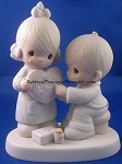 He's The Healer Of Broken Hearts - Precious Moment Figurine
