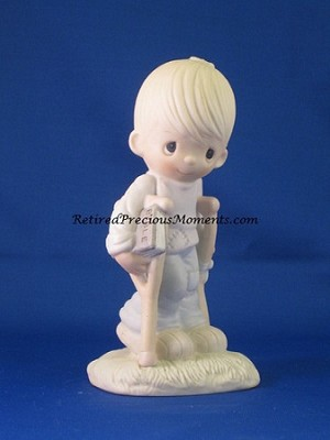 He Watches Over Us - Precious Moment Figurine