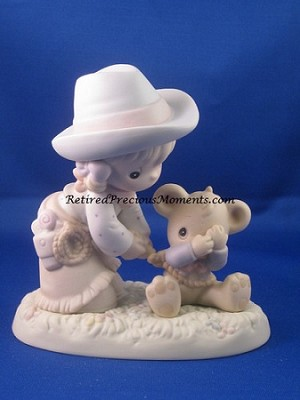 I Can't Bear To Let You Go - Precious Moment Figurine