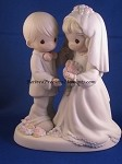 I Give You My Love Forever True - Precious Moment Figurine