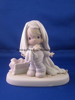 June - Precious Moment Figurine