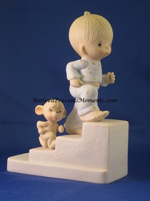 Let Not The Sun Go Down Upon Your Wrath - Precious Moment Figurine