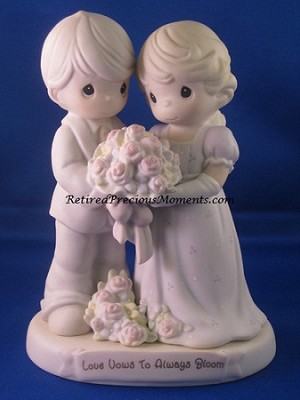 Love Vows To Always Bloom - Precious Moment Figurine