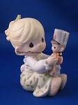 May Your Christmas Begin With A Bang! - Precious Moment Figurine