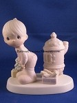 May Your Christmas Be Warm - Precious Moment Figurine