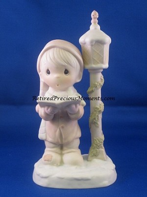 O Come All Ye Faithful - Precious Moment Figurine