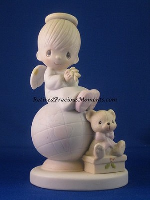 Peace On Earth - Precious Moment Figurine