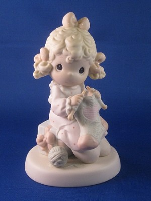 My Love Will Keep You Warm - Precious Moment Figurine