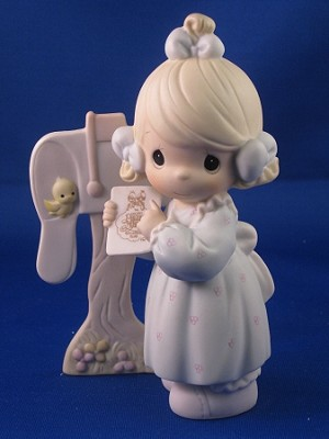 Sharing The Good NewsTogether - Precious Moment Figurine