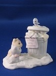 Garbage Can - Precious Moment Figurine