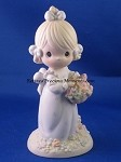 Take Time To Smell The Flowers - Precious Moment Figurine