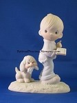 The End Is In Sight - Precious Moment Figurine