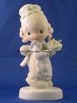 There Is Joy In Serving Jesus - Precious Moment Figurine