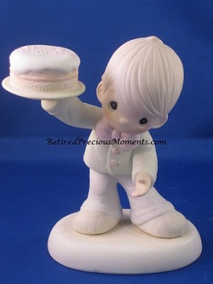 This Is The Day The Lord Has Made - Precious Moment Figurine