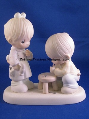 Thumb-Body Loves You - Precious Moment Figurine