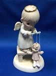 The Good Lord Will Always Uphold Us - Precious Moment Figurine