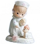 Growing in Grace Age 7 - Precious Moment Figurine