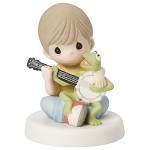 Music Is What Friendship Sounds Like - Precious Moment Figurine