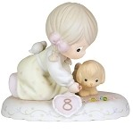 Growing in Grace Age 8 - Precious Moment Figurine