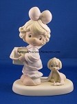 Tied Up For The Holidays - Precious Moments Figurine