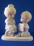 Wishing You A Perfect Choice - Precious Moment Figurine