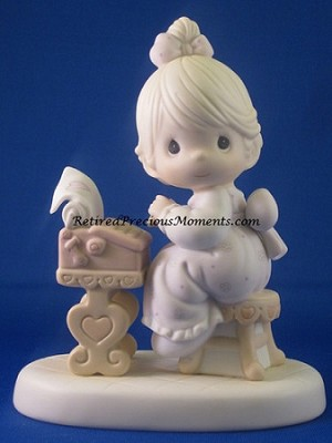 You Are The Type I Love - Precious Moments Figurine